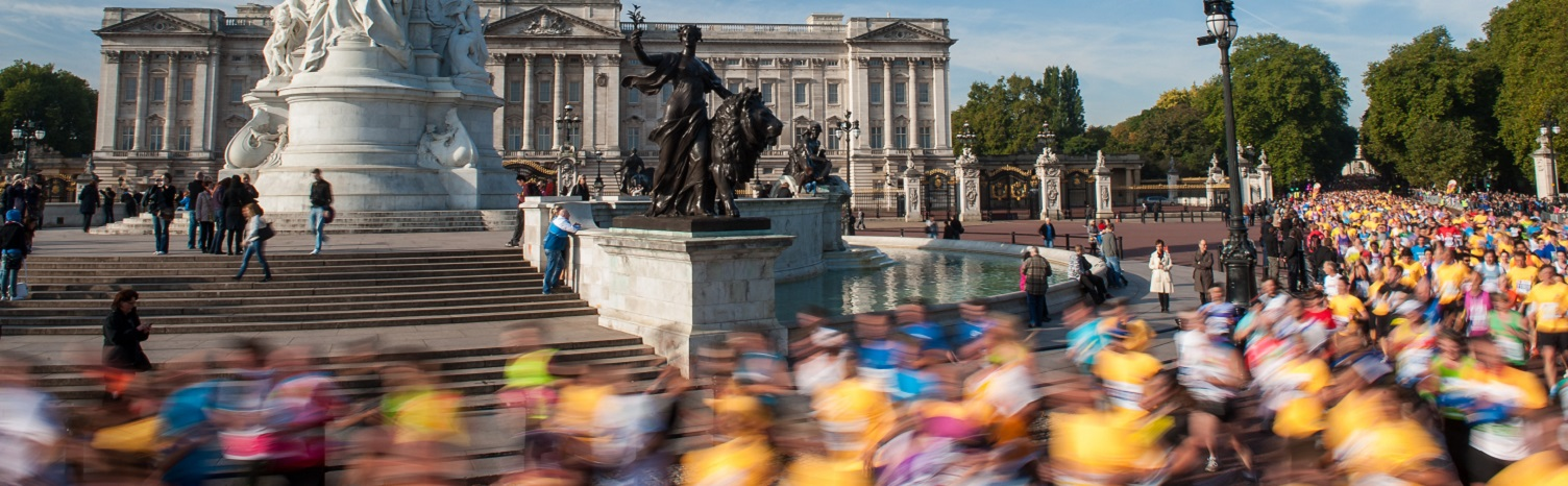 London + Running + Marathon