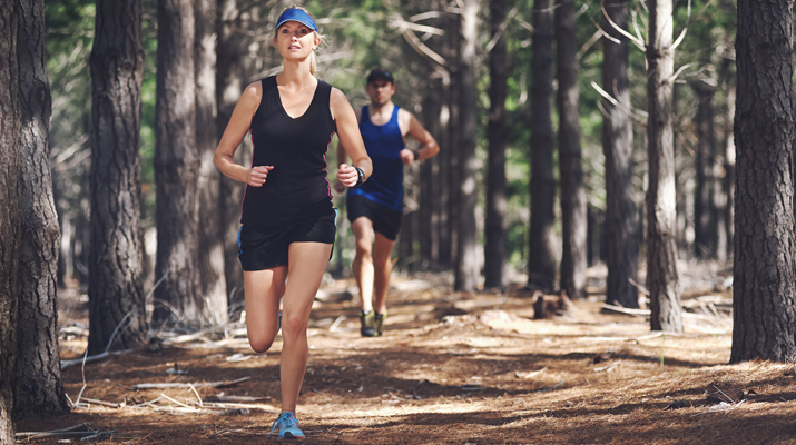 Forest + Woodland + Running