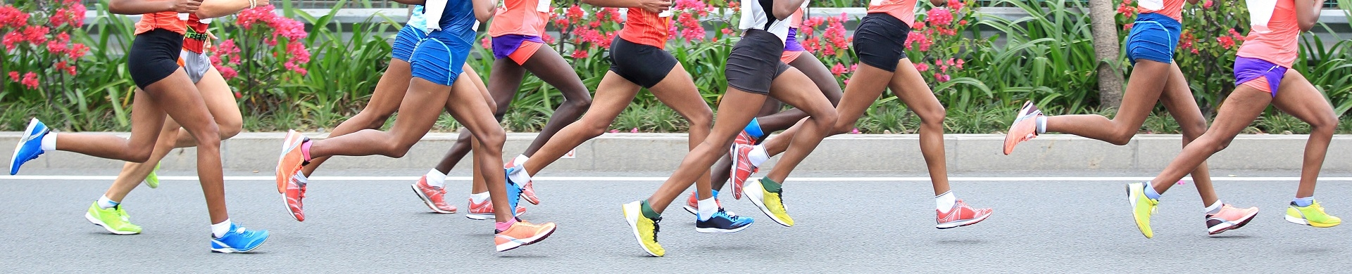 People + Race + Running Kit + Running Shoes