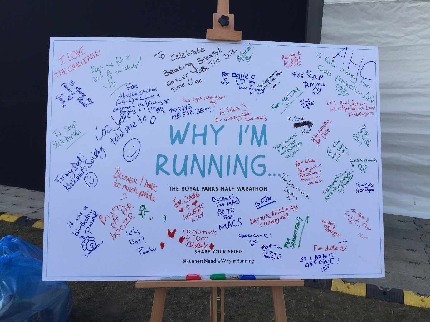 Race Village + Why I'm Running + #whyimrunning