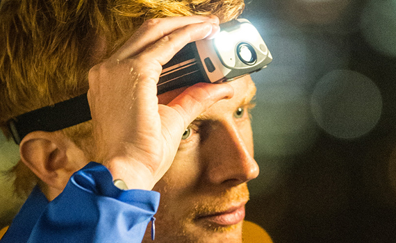 Lightweight + Running + Head Torch