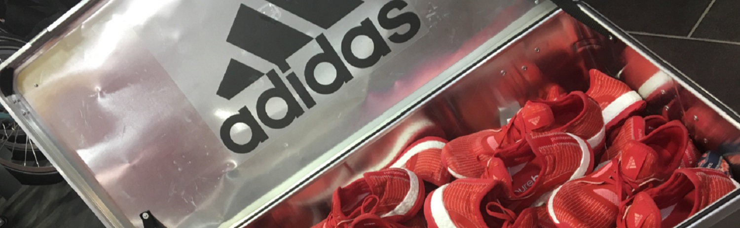 Adidas PureBoostx +  Launch + Runners Need + Party + Trainers + Adidas
