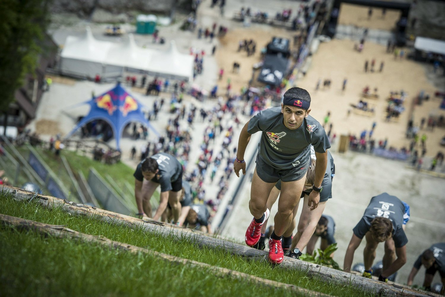 Red Bull 400m + Vertical Hill Run + Challenge