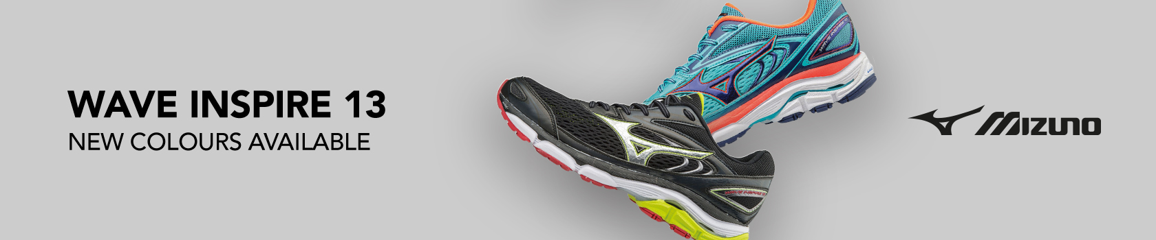 Mizuno's wave inspire 13 trainer is now available in new colours